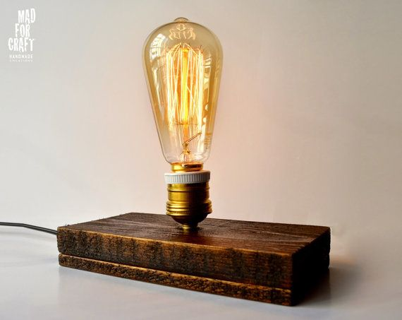 Edison Lamp for countries with electric power 220 by MadForCraftGR