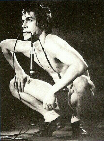 Iggy Pop. I love the man