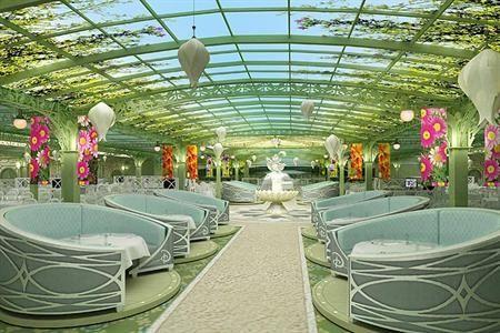 Enchanted Garden Fantasy Disney Cruise Pinterest Gardens Disney And Restaurant