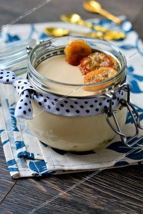 Десерт из ряженки `Пломбир` пошаговый рецепт с фото