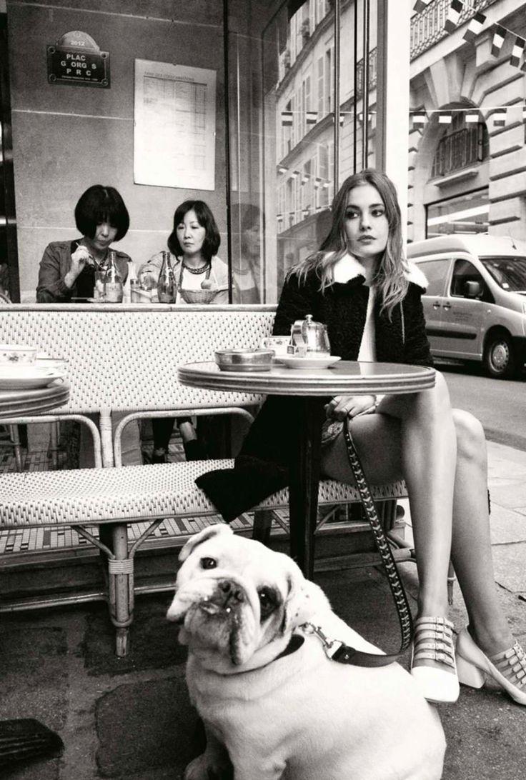 ELLE France October 2015 - Nadja Bender by Cedric Buchet - Fashion Editorials