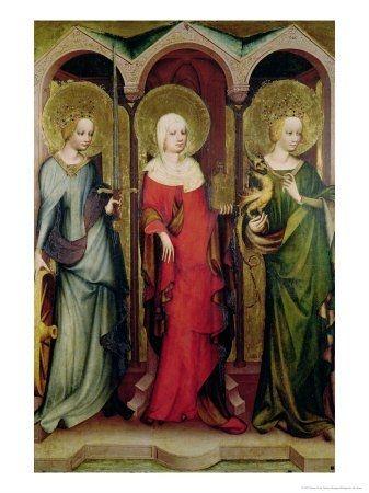 Sv. Kateřina, Máří Magdaléna a Markéta