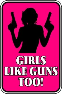 Girls Like Guns Too !! Support the NRA and let the Media know we are not going to put up with the lies !!!!