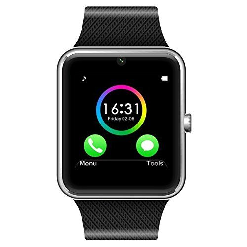 LeFun-One-Bluetooth-Phone-Smart-Watch-Wrist-Phone-with-NFC-Cell-Phone-Watch-Phone-Mate-For-Android-Full-functions-Samsung-S3S4S5Note-2Note-3Note-4-HTC-Sony-LG-and-iPhone-55C5S66-Plus-Partial-functions-0-0