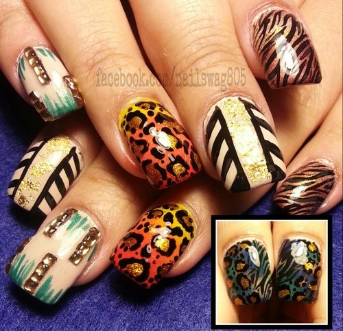 54 best african images on pinterest nail scissors nail art african safari in the fall prinsesfo Images