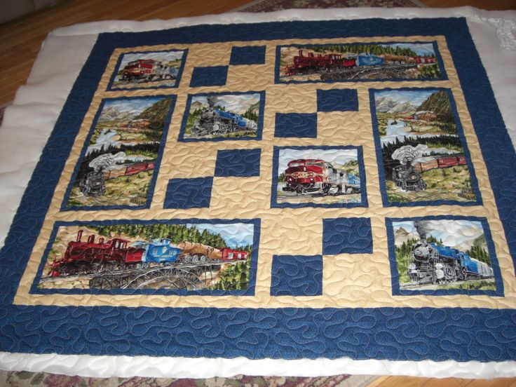 from quiltingboard.com Cut Panels quilt