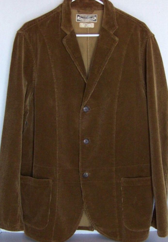 VTG Polo Jeans Co Ralph Lauren Size XL Men s Corduroy Sports Coat Blazer  Jacket   Antique-Vintage Collections   Polo jeans, Corduroy, Corduroy sport  coat 99e374c5c79e