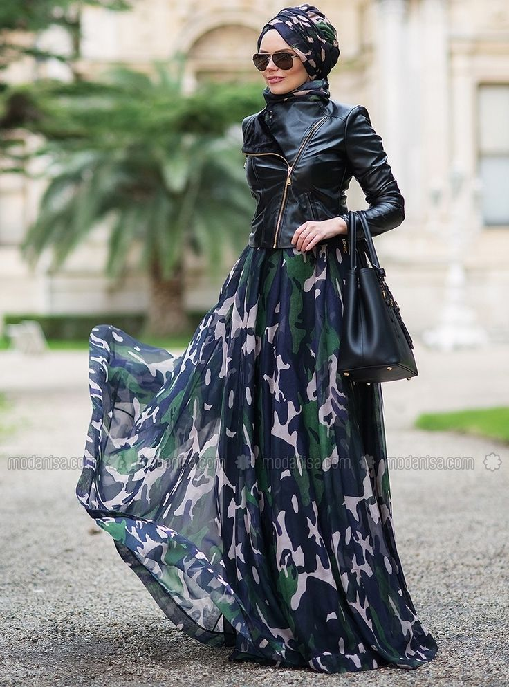 Military Skirt - Khaki - Muslima Wear