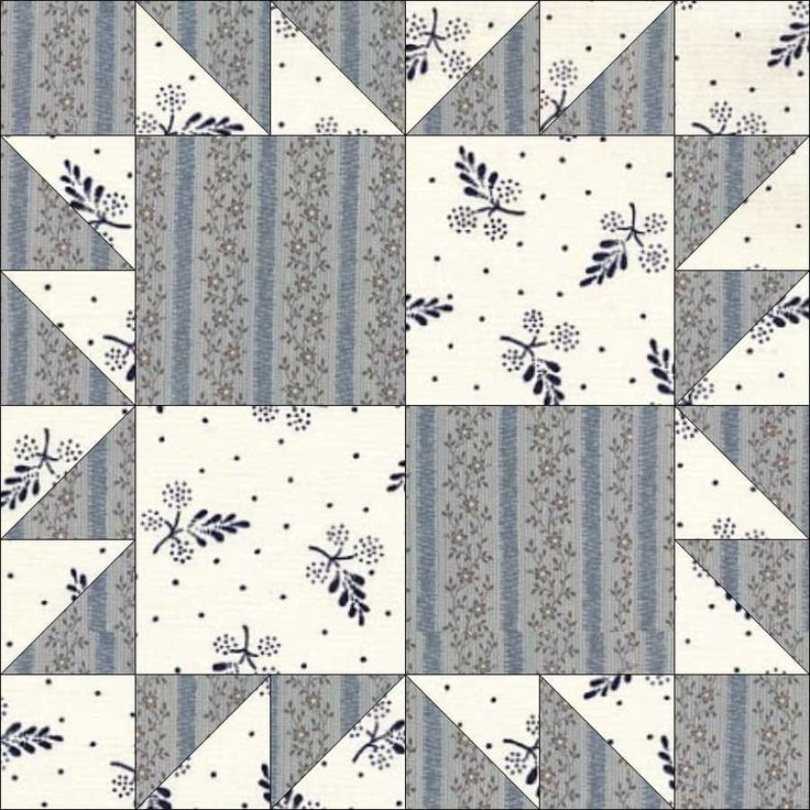 June 2 Crows Foot. Our block is another version again, this time from EQ7.