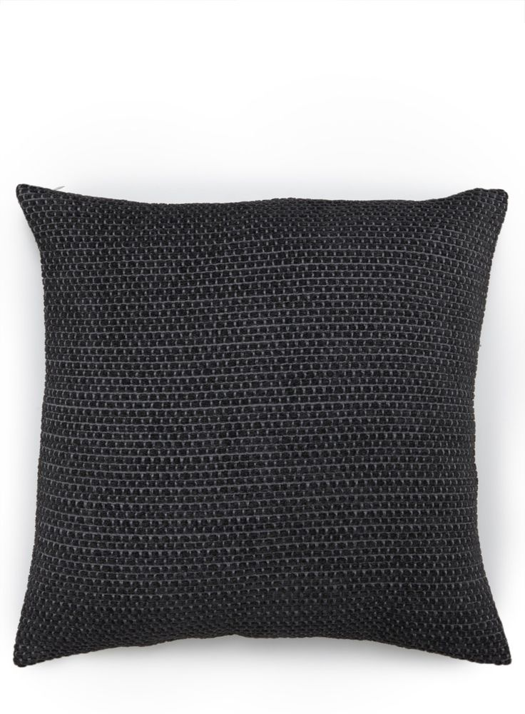 Photo 2 of Charcoal Bobble Cushion - 50x50cm