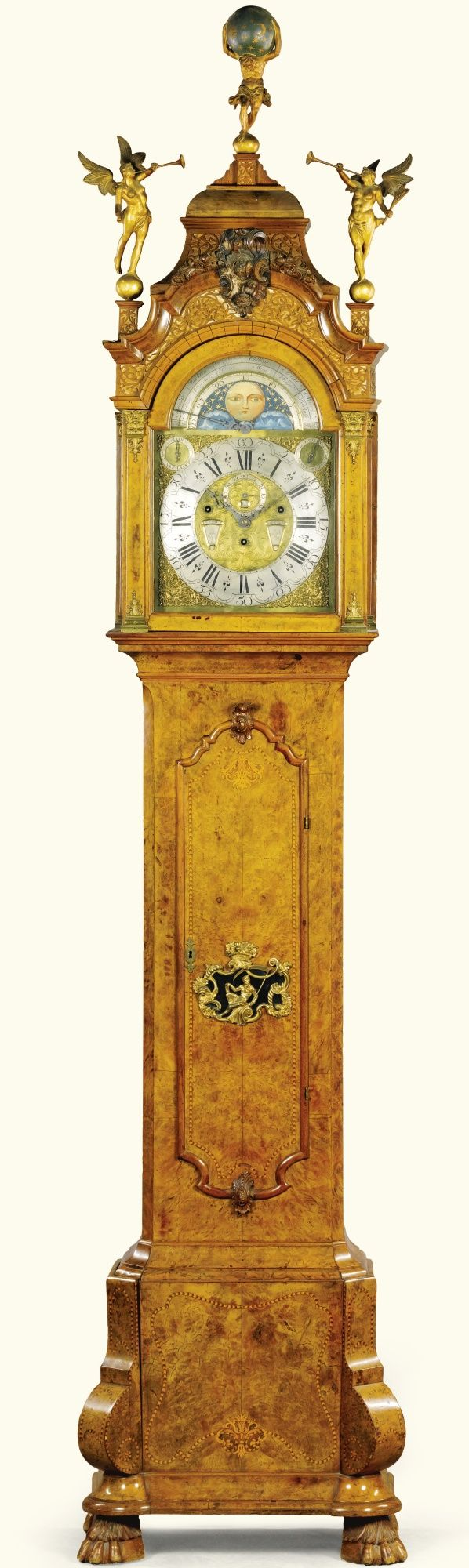 97 Best Grandfather Clocks Images On Pinterest Antique Clocks
