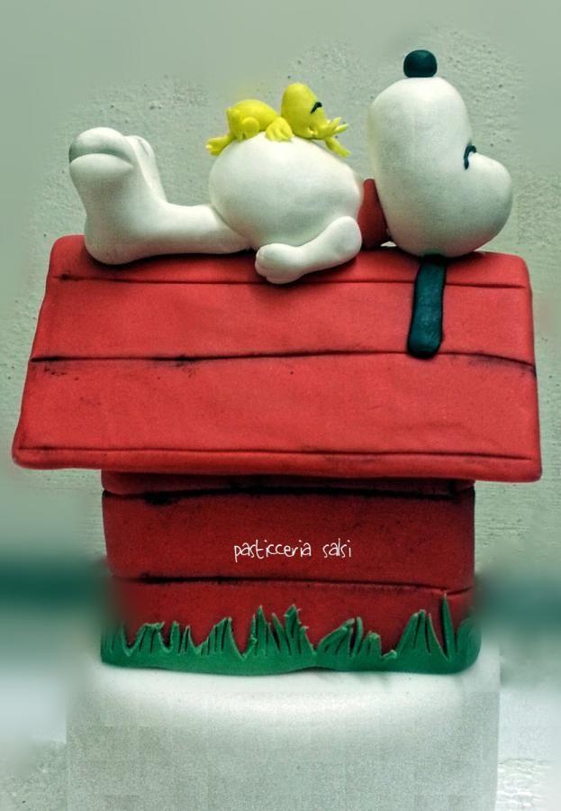 Snoopy cake  by barbara Saliprandi