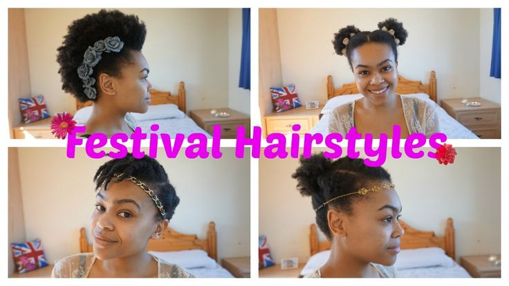 Festival Hairstyle Ideas For Curly/Afro Hair