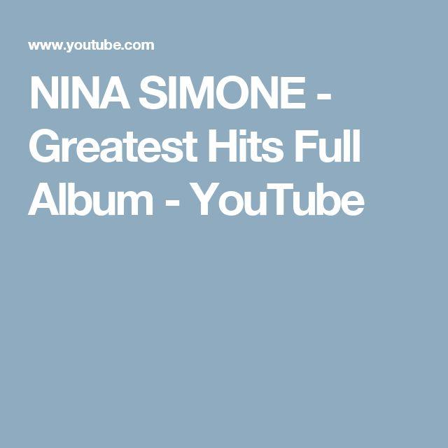 NINA SIMONE  - Greatest Hits Full Album - YouTube