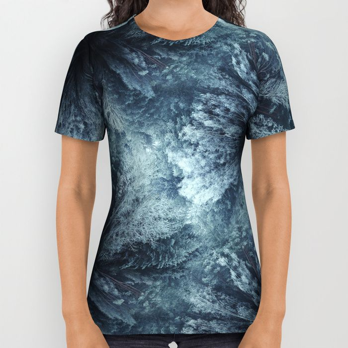 Forest world All Over Print Shirt by HappyMelvin | Society6