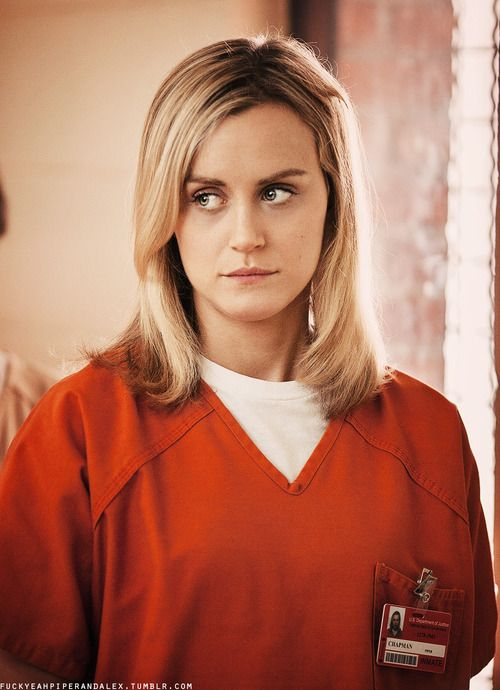 Piper Chapman - Taylor Schilling, Orange is the New Black, great tv, female beauty, powerful face, intense eyes, portrait
