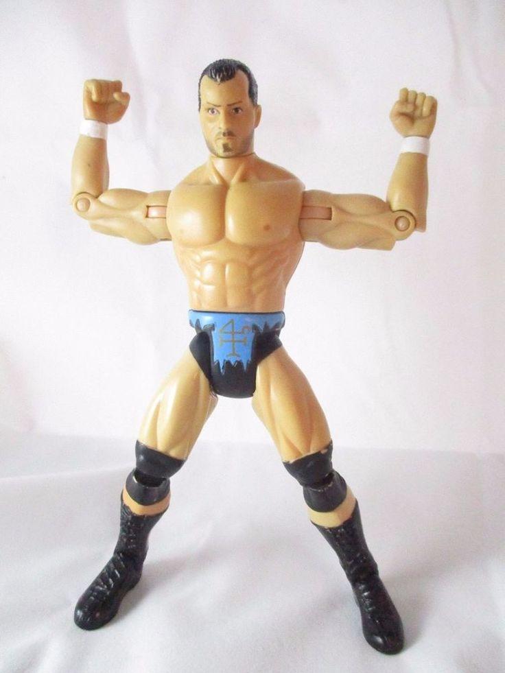 WCW Dean Malenko Wrestling Action Figure Marvel Toybiz 4 Horsemen 1999 #Marvel