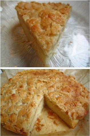 Tuscan Almond Cake http://quickneasyrecipe.weebly.com/tuscan-almond-cake.html