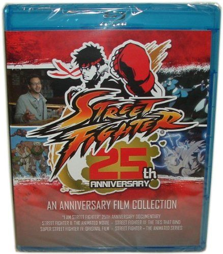 Street Fighter 25th Anniversary Film Collection Blu Ray @ niftywarehouse.com #NiftyWarehouse #StreetFighter #VideoGames #Gaming