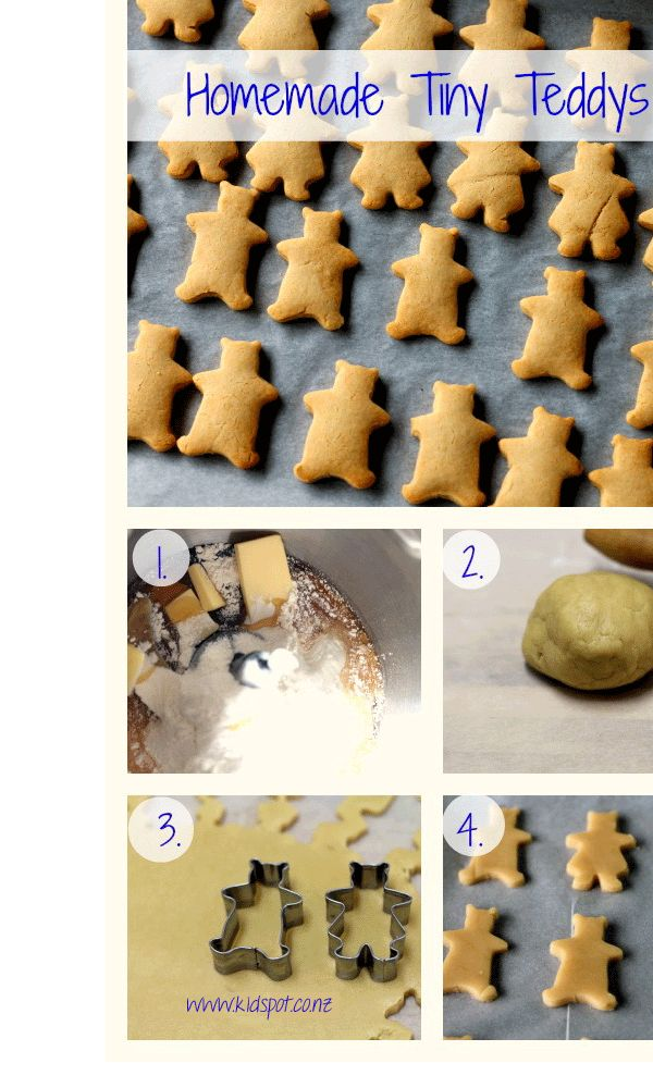 Homemade Tiny Teddys
