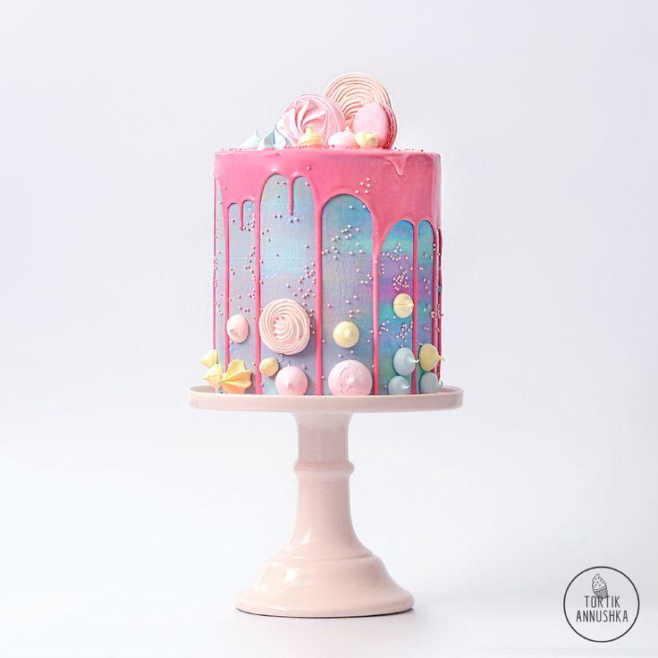 Безе торт № 1479 на заказ в Москве