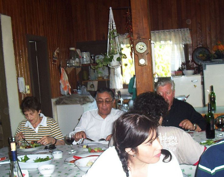 Polcura Marzo 2009. Cumpleaño del Papa de Carmen.