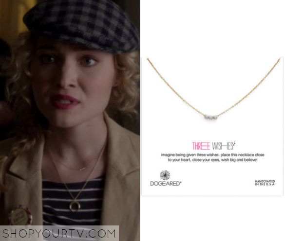 Scream Queens: Season 1 Episode 4 Grace's Triple Circle Necklace