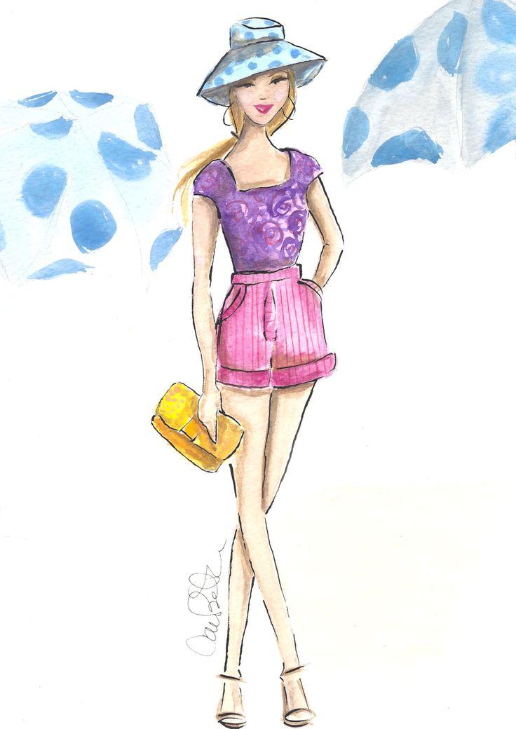 Summer Girl  Artist Carrie Beth Taylor www.carriebethtaylor.com