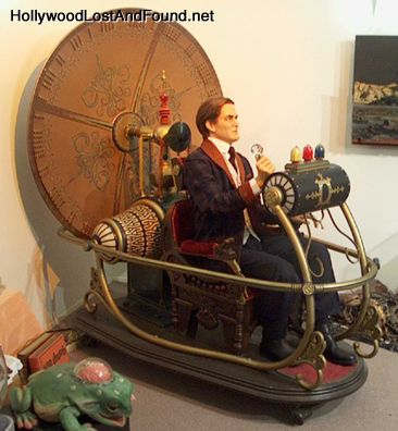 The original time machine, used by Rod Taylor in the movie Time Machine (1960).