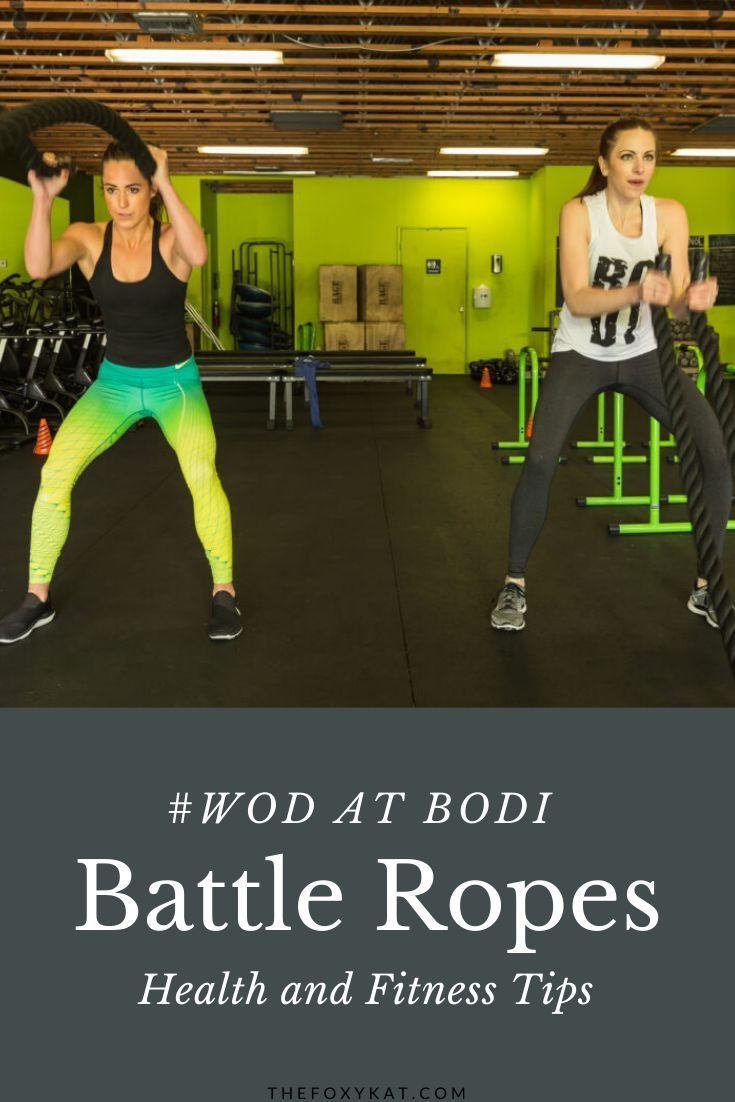 Today S Workout Of The Day Wod I M Talking About A Couple Different Exercises That You Can Do With Exercise Ropes In 2020 Fitness Motivation Buddy Workouts Fitness