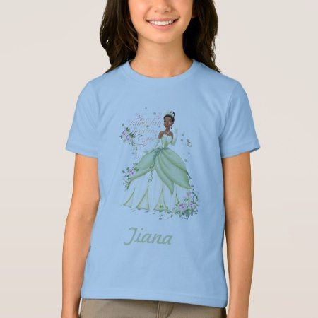Tiana - Fairy Tale Dreams T-Shirt - tap, personalize, buy right now!