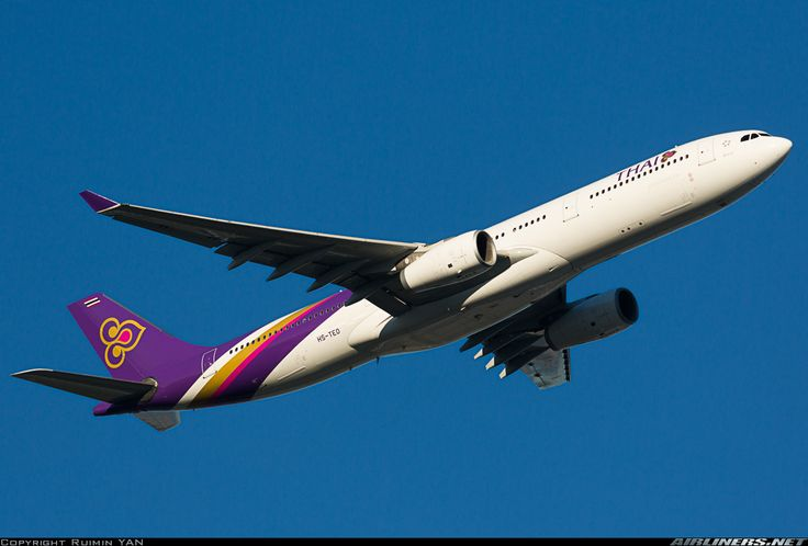 Airbus A330-343 - Thai Airways International | Aviation Photo #4383745 | Airliners.net