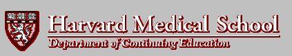 Harvard CME: Primary Care Orthopaedics  Date: 5/6/2013 - 5/7/2013  Location: Harvard Club, Main Club