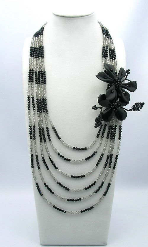 Beaded JewelryBead NecklaceHoliday by audreyjewelry on Etsy, $35.00