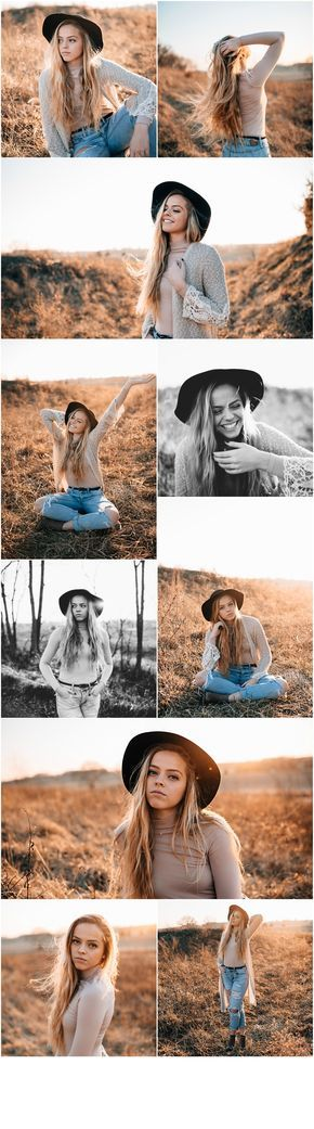 Senior Picture Outfit Ideas | High School Senior Girl Photos