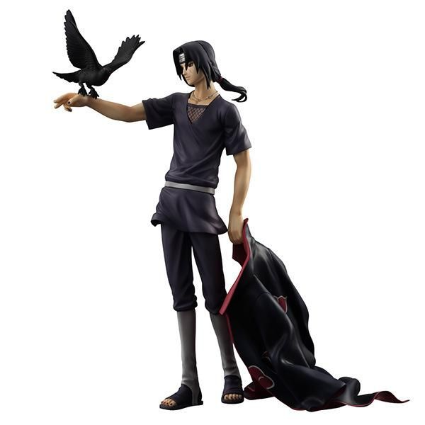 HOT Anime Naruto 7/'/' Collectible Action Figure PVC Model Cloak /& Faces Removable