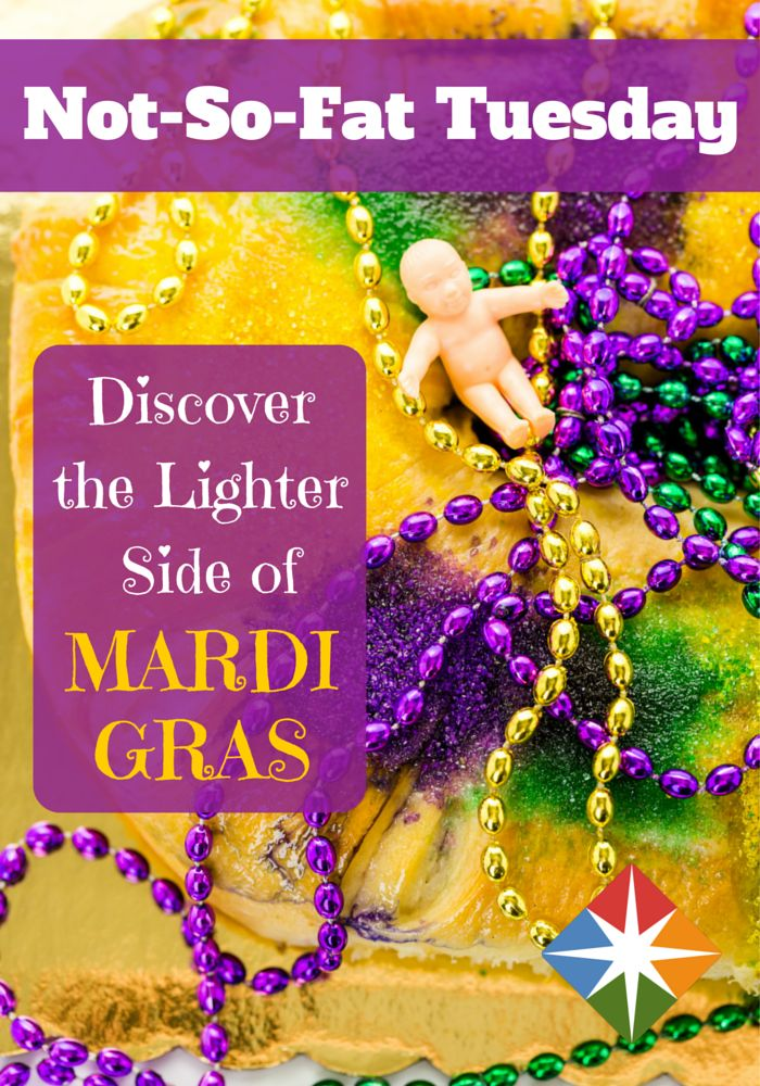 Slim down your favorite Mardi Gras recipes with these yummy and healthier versions!
