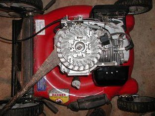How to Repair a Lawn Mower Engine  | Motor | Pinterest