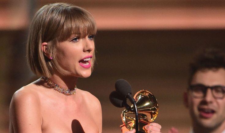 Taylor Swift Blasts Kanye West in Grammys 2016 Acceptance Speech (Video)