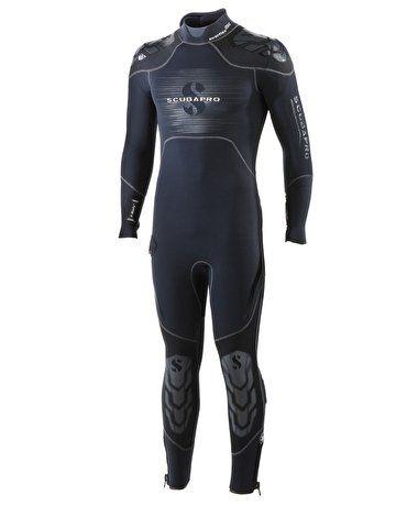 Scubapro EverFlex Steamer 5/4mm Men's Wetsuit. Black/Grey Review   Wetsuit. Clothes. Diving suit