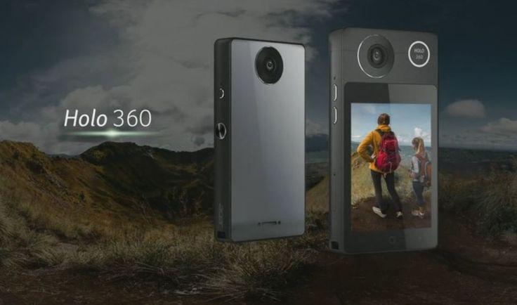 Acer Holo 360, la prima videocamera a 360 gradi con connessione LTE. Acer ha presentato  Holo 360, una videocamera in grado di registrare video a 360 gradi che integra display touch e connessione LTE