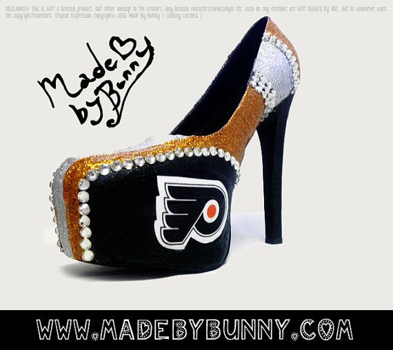 """Because hockey moms like a """"little"""" bling too!"""