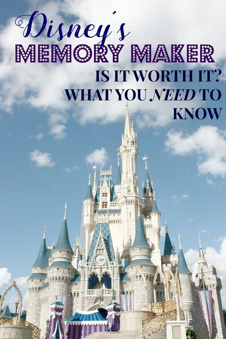 An in-depth look at whether Memory Maker is worth the cost. If you're planning a trip to Walt Disney World, here's some things you'l want to consider!
