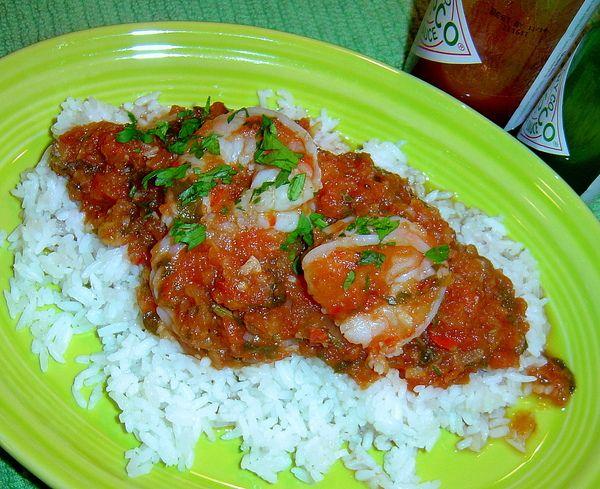 Justin Wilson's Shrimp a La Creole