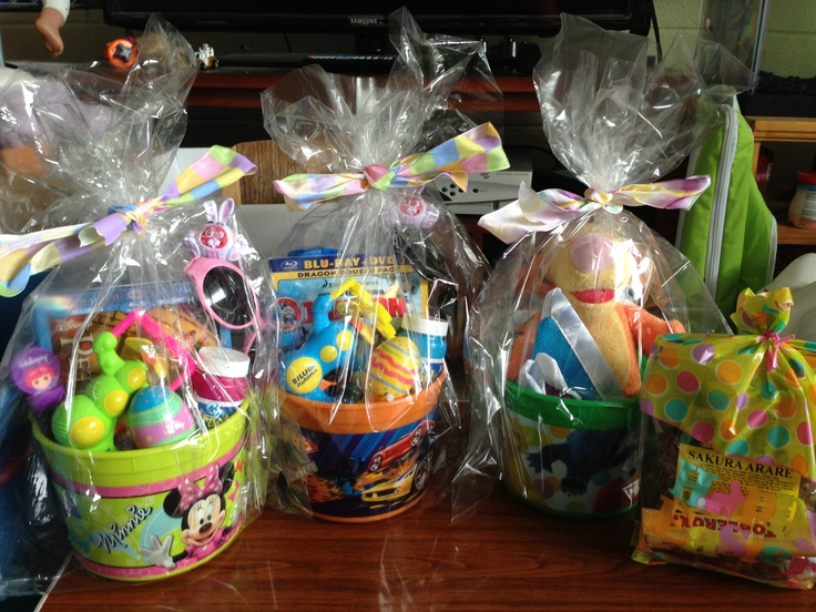 Easter basket ideas for kidsGift Basket Ideas For Kids