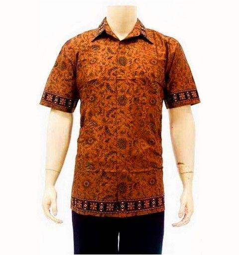 baju batik pria hp177