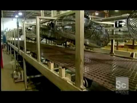 ▶ How It's Made Sandwich Cookies Oreos - YouTube