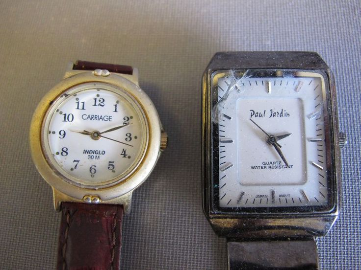 Vintage paul jardin men 39 s watch and carriage women 39 s watch for Paul jardin quartz watch
