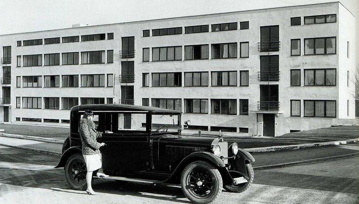 mies van der rohe Weissenhof-siedlung 1926-27