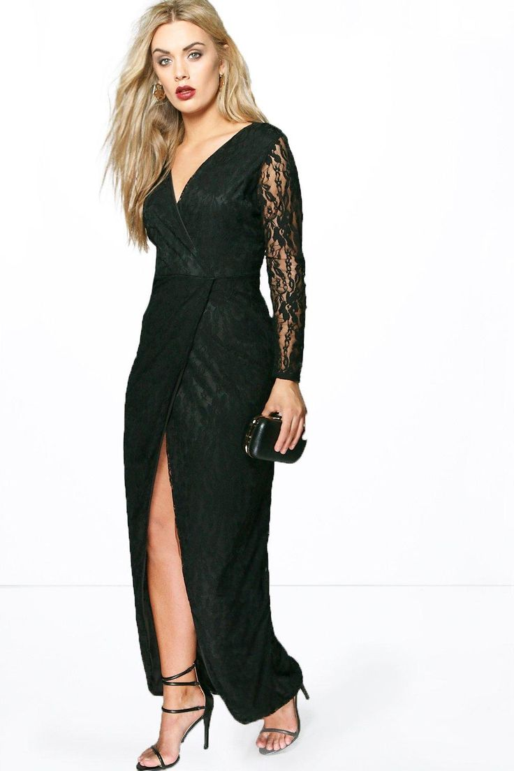 Boohoo plus size maxi dresses
